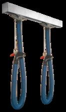 Компактная рельсовая вытяжная система Technorail для легковых автомобилей и LCV