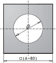 Монтажная плита PM(для всех типов вентиляторов)
