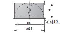 Крышные основания PWD и PWD PLUS. Обратный клапан SWD или SWD PLUS